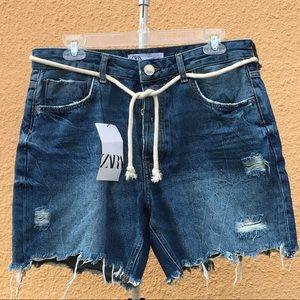 Zara Men's Demin Shorts